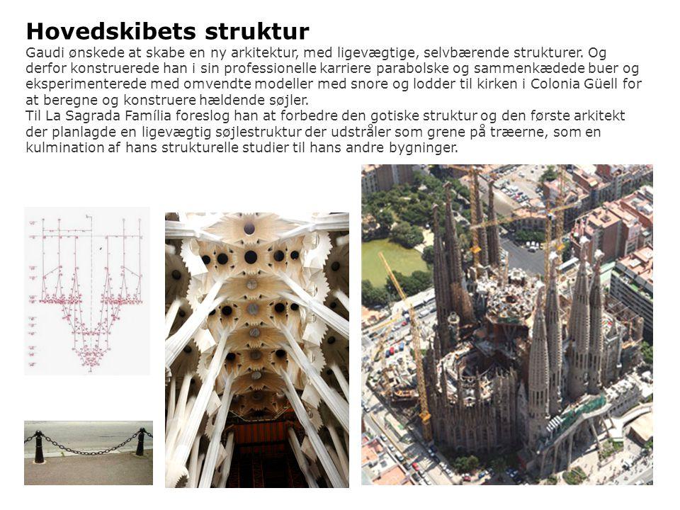 Hovedskibets struktur