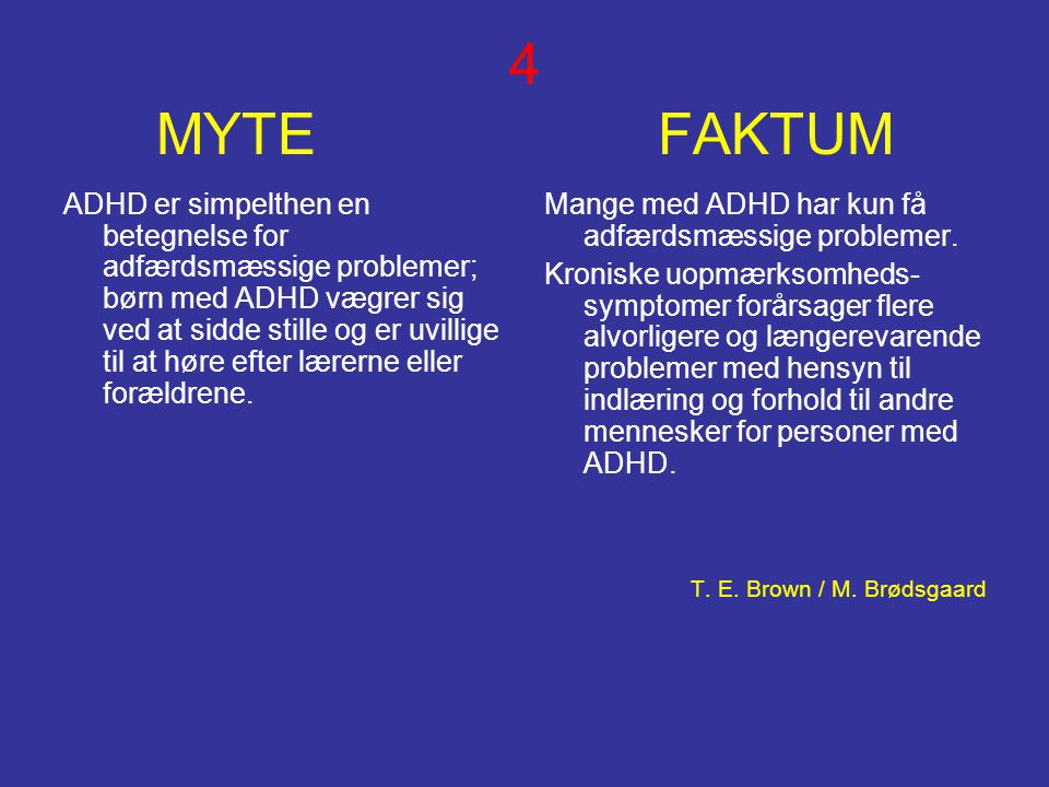 4 MYTE FAKTUM