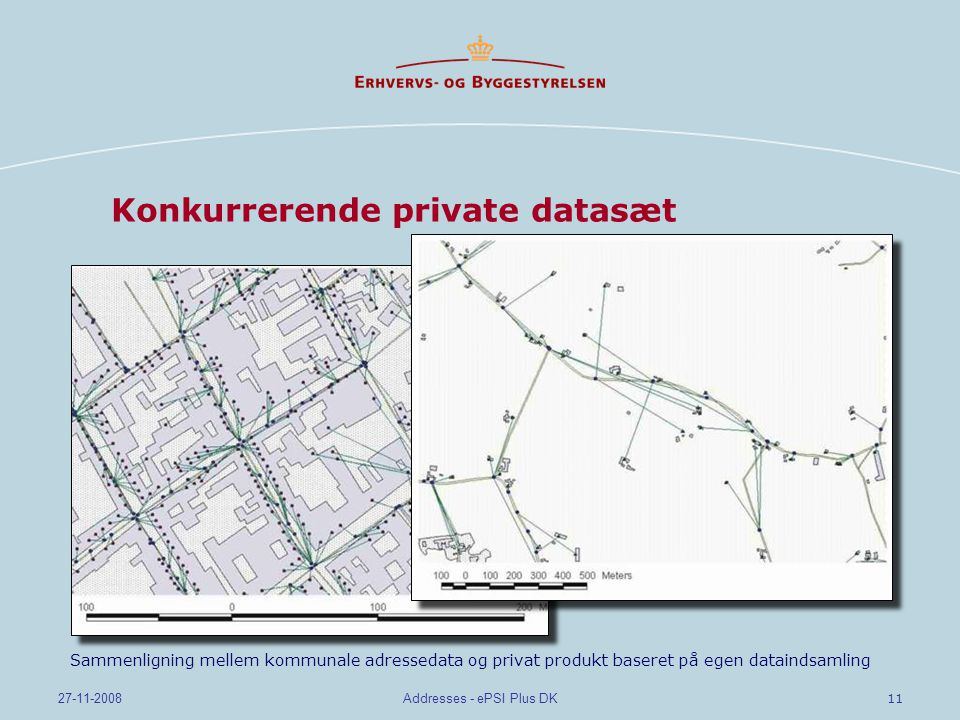Konkurrerende private datasæt