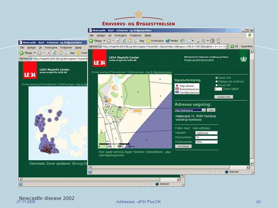 Addresses - ePSI Plus DK