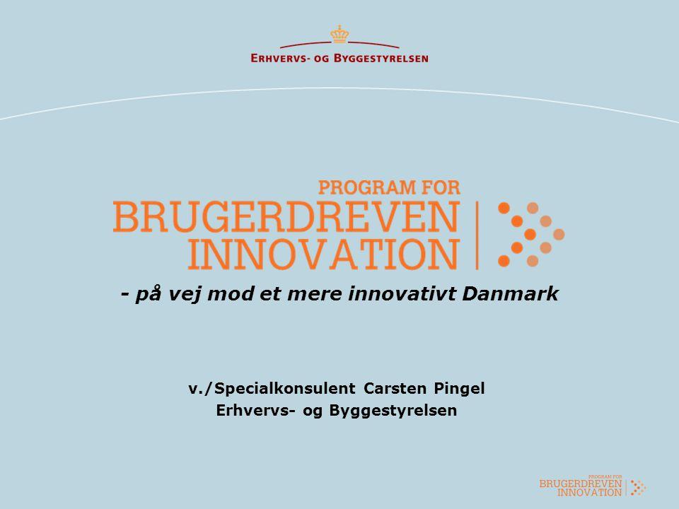 - på vej mod et mere innovativt Danmark