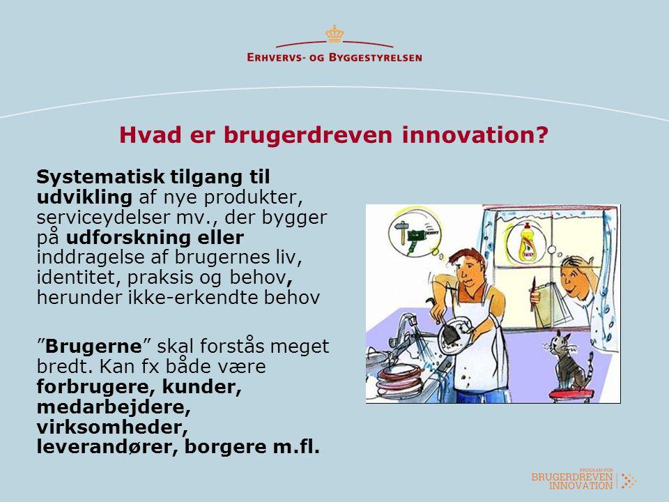 Hvad er brugerdreven innovation