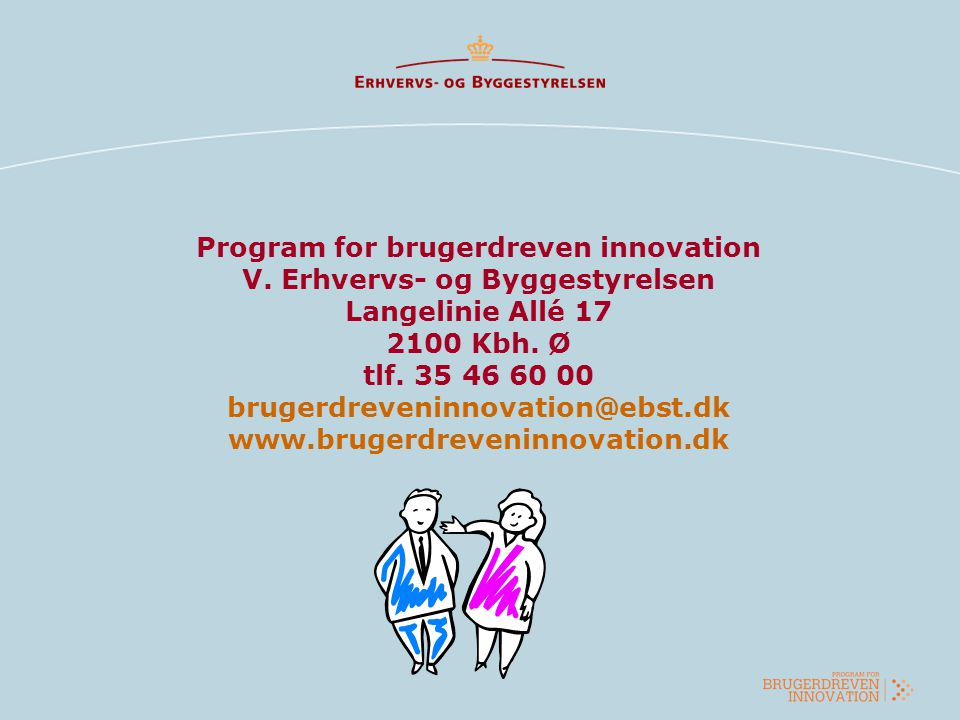 Program for brugerdreven innovation V