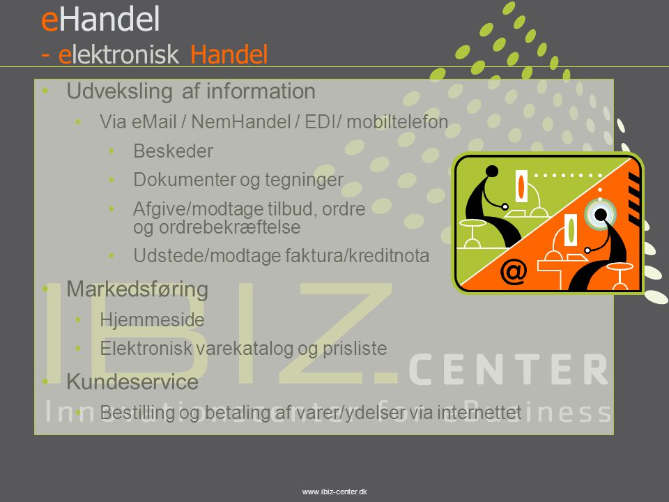 eHandel - elektronisk Handel