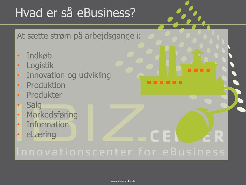 Hvad er så eBusiness At sætte strøm på arbejdsgange i: Indkøb