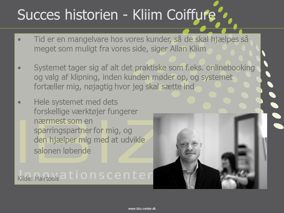 Succes historien - Kliim Coiffure