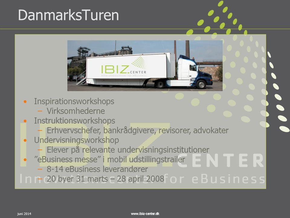 DanmarksTuren Inspirationsworkshops Virksomhederne