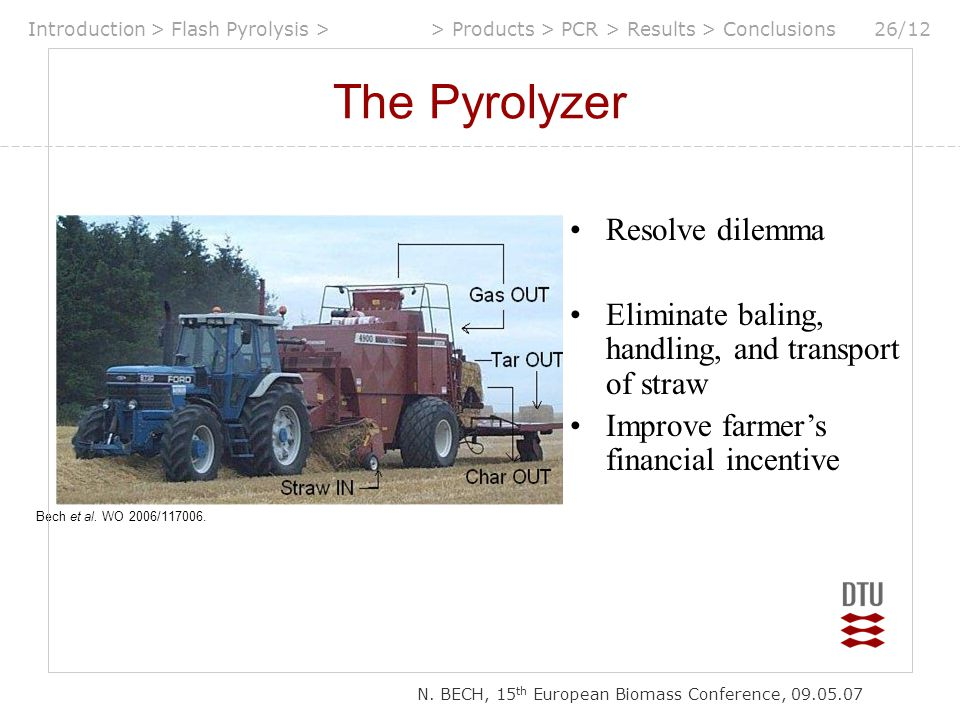 The Pyrolyzer Resolve dilemma