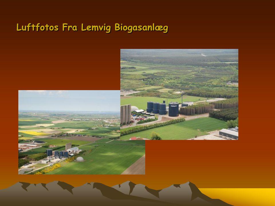 Luftfotos Fra Lemvig Biogasanlæg
