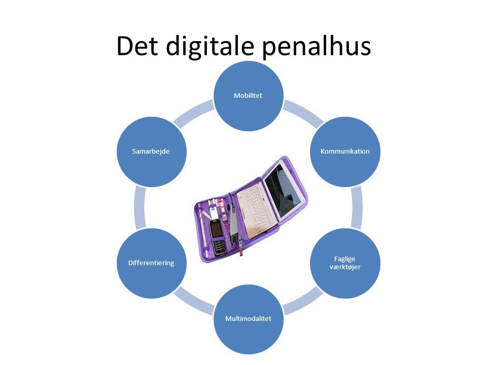 IKT Det digitale penalhus Mobilitet Kommunikation Faglige værktøjer