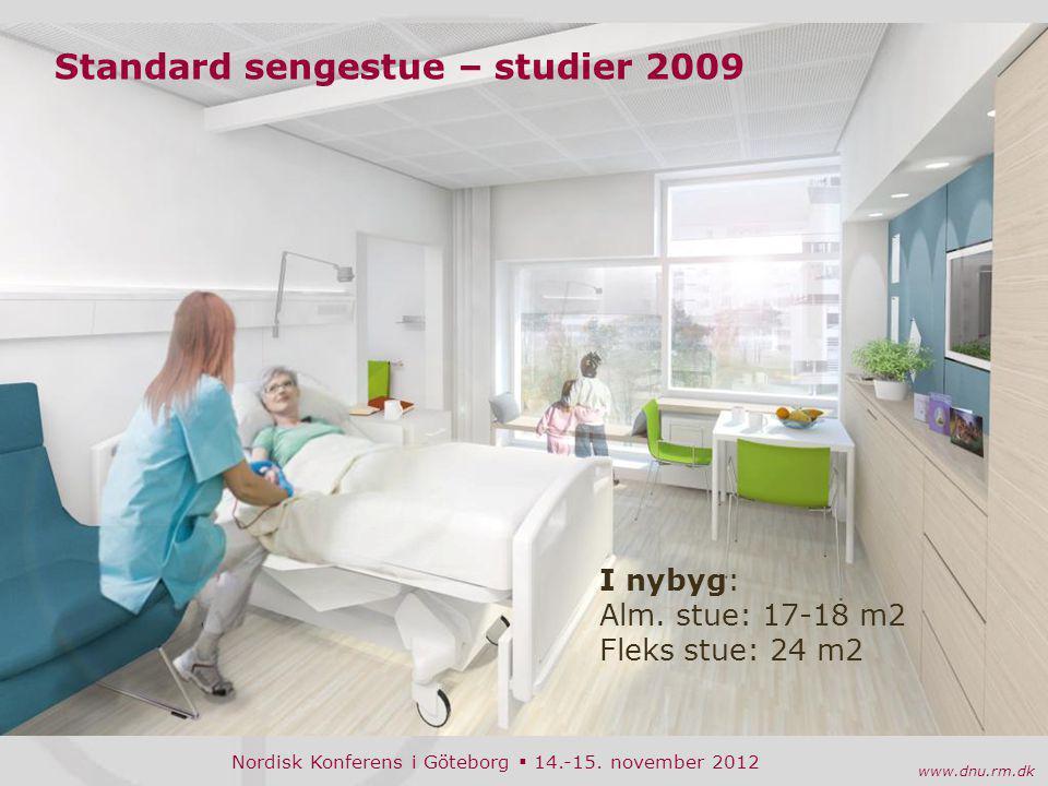 Standard sengestue – studier 2009