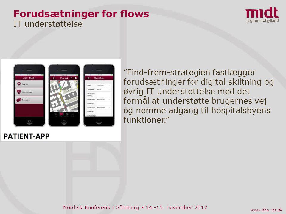 Forudsætninger for flows