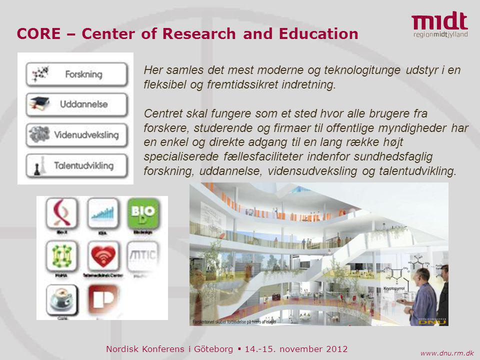 CORE – Center of Research and Education