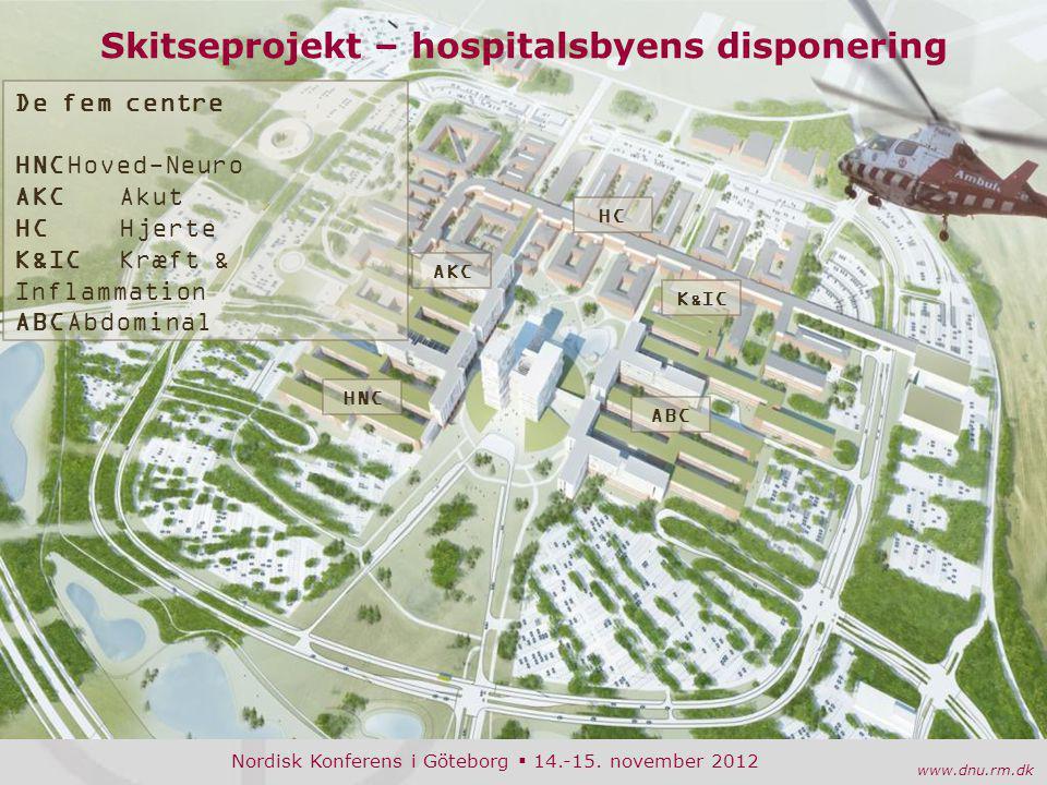 Skitseprojekt – hospitalsbyens disponering