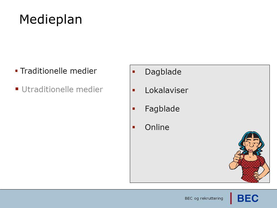 Medieplan Dagblade Utraditionelle medier Lokalaviser Fagblade Online