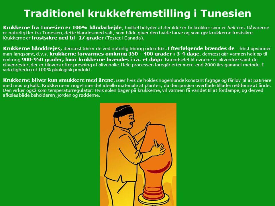 Traditionel krukkefremstilling i Tunesien