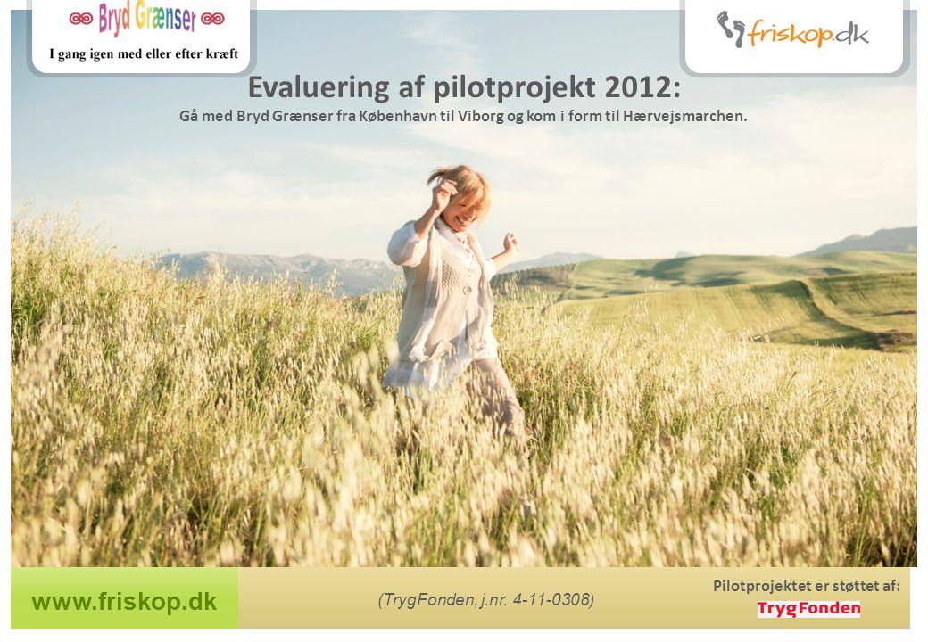 www.friskop.dk Pilotprojektet er støttet af: