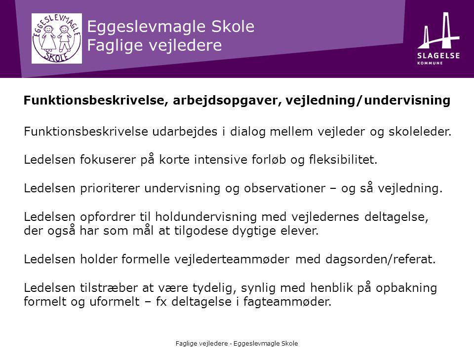 Eggeslevmagle Skole Faglige vejledere