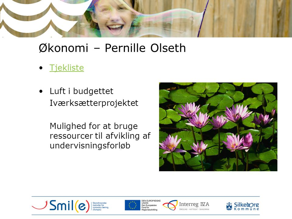Økonomi – Pernille Olseth