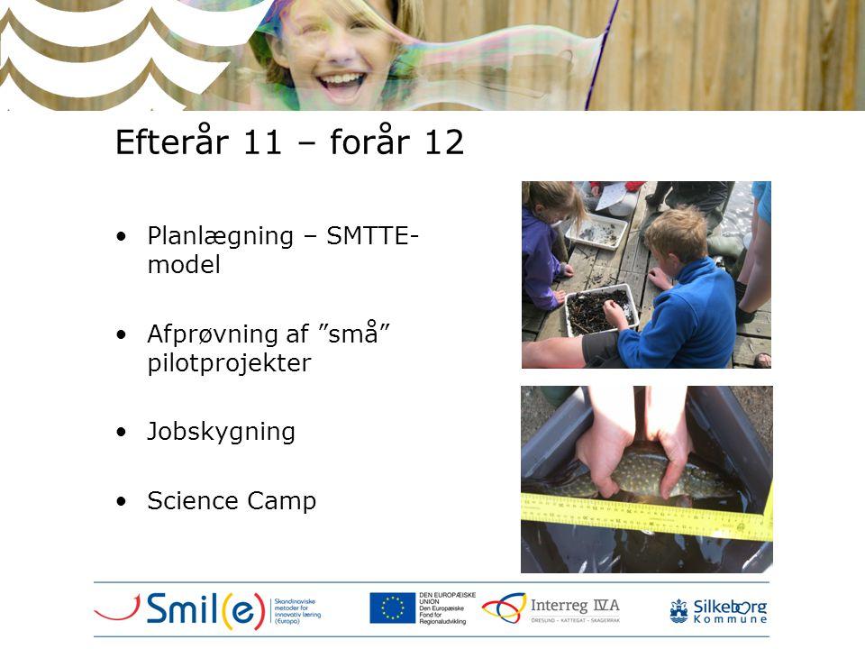 Efterår 11 – forår 12 Planlægning – SMTTE-model