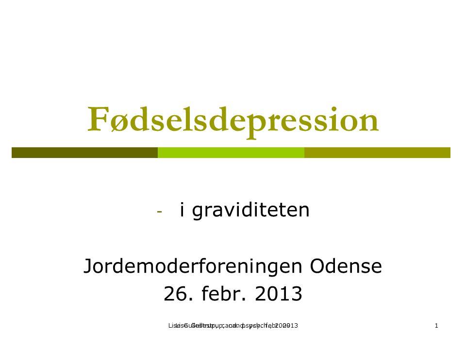 i graviditeten Jordemoderforeningen Odense 26. febr. 2013