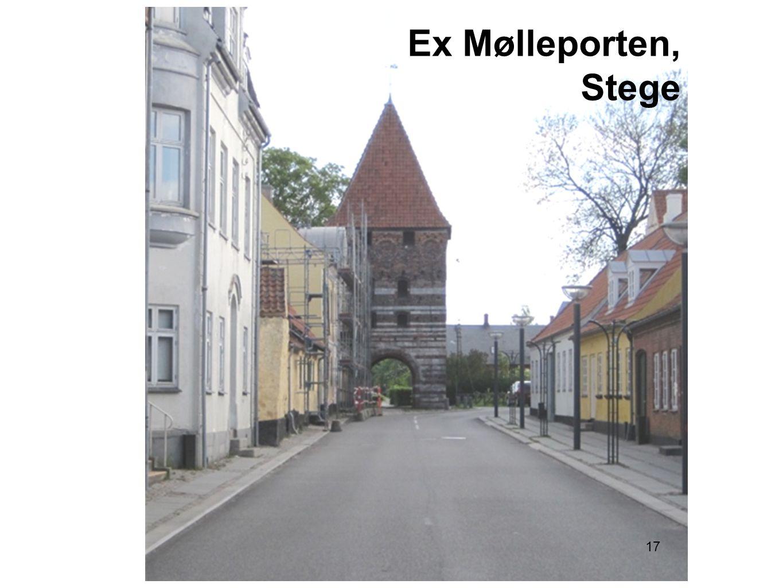 Ex Mølleporten, Stege 17