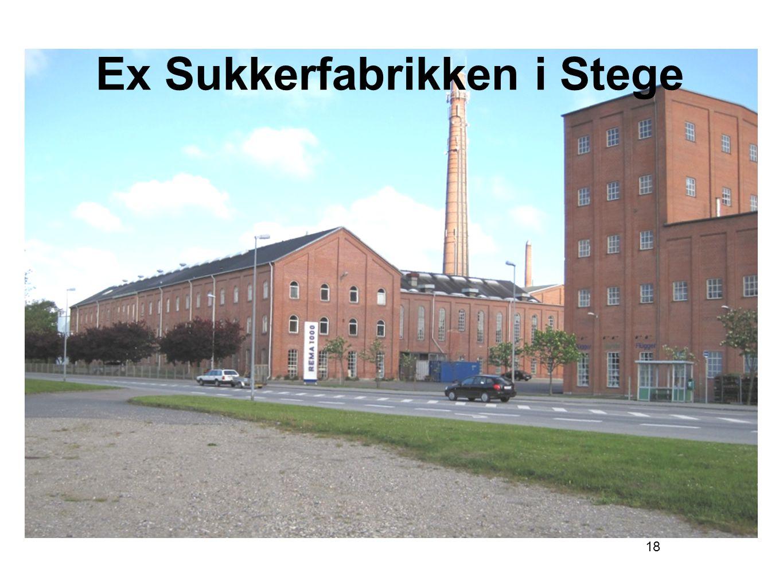 Ex Sukkerfabrikken i Stege