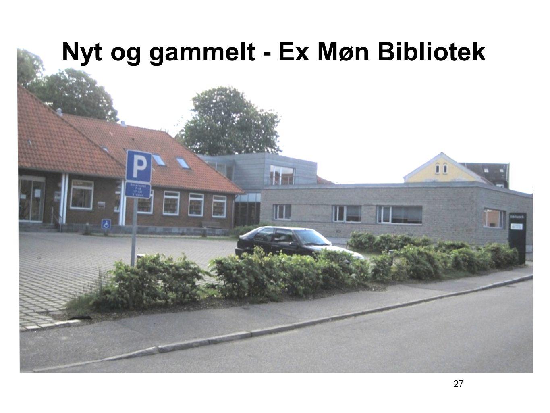 Nyt og gammelt - Ex Møn Bibliotek