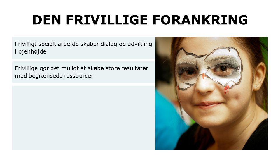 DEN FRIVILLIGE FORANKRING