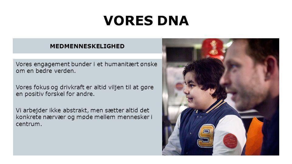 VORES DNA MEDMENNESKELIGHED