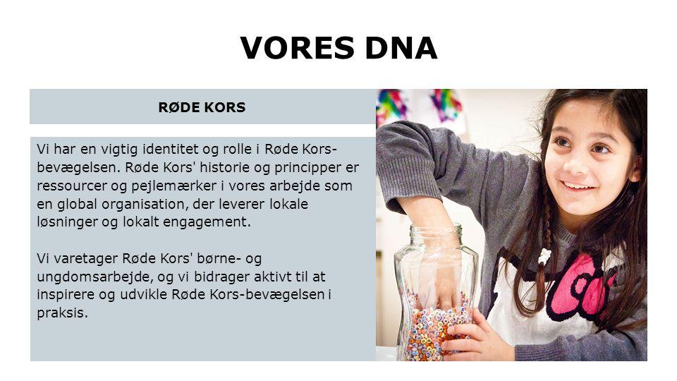 VORES DNA RØDE KORS.