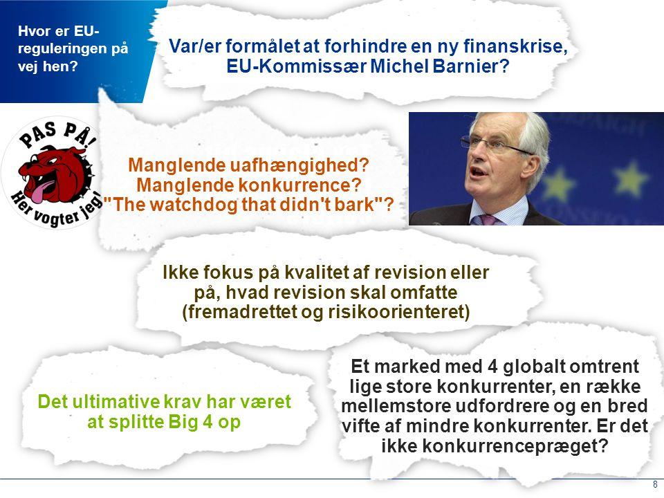 EU-regulering - hvad kan vi forvente