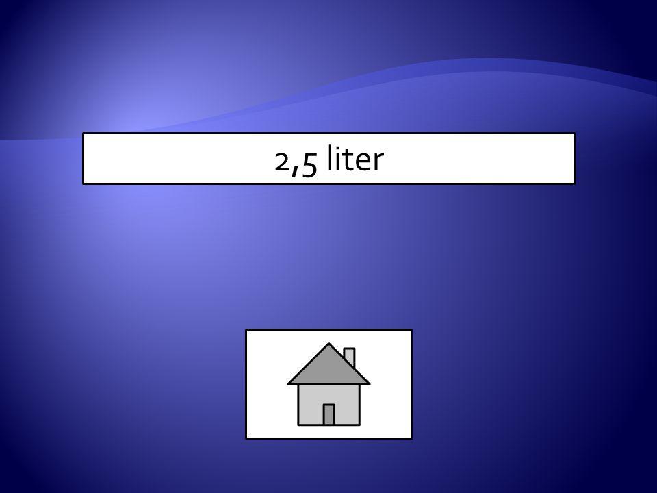 2,5 liter