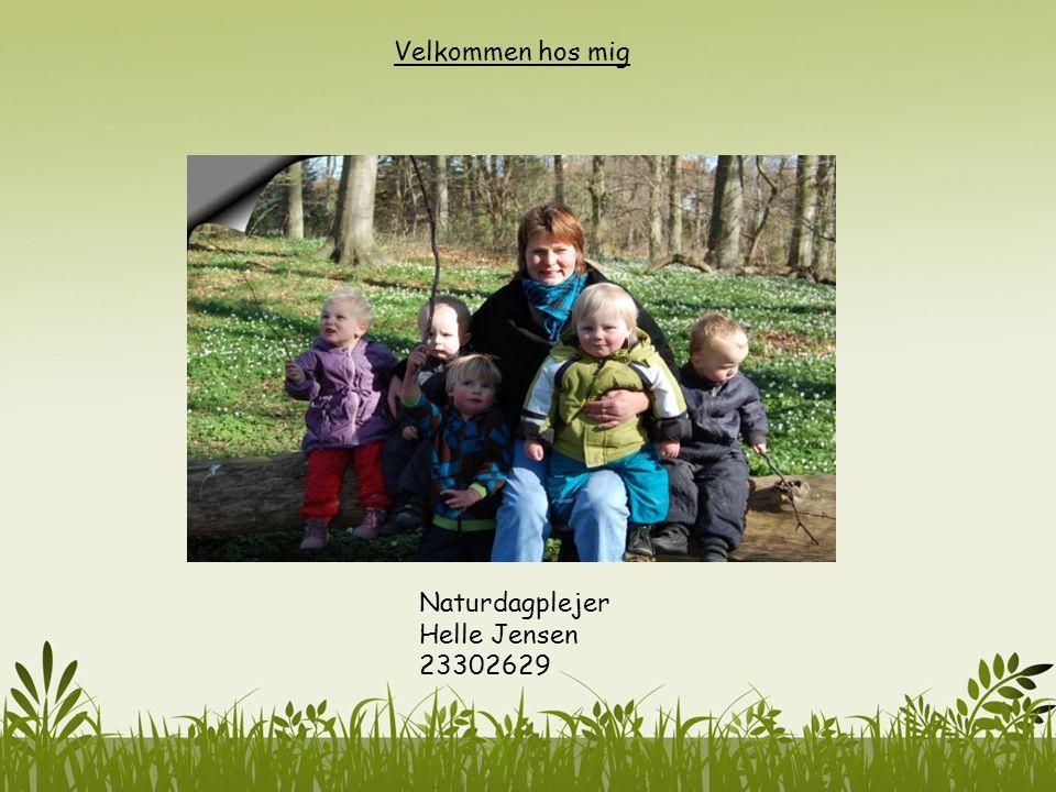 Velkommen hos mig Naturdagplejer Helle Jensen 23302629