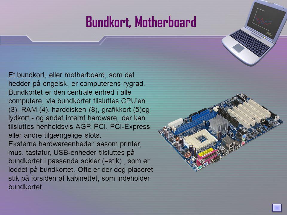 Bundkort, Motherboard