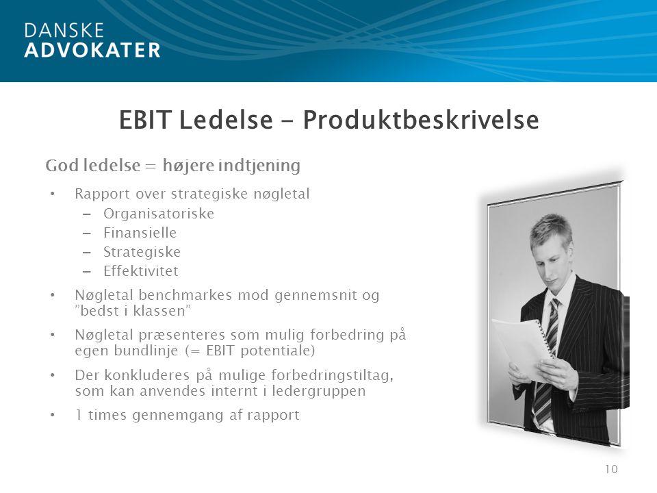 EBIT Ledelse - Produktbeskrivelse