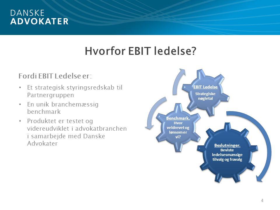 Hvorfor EBIT ledelse Fordi EBIT Ledelse er: