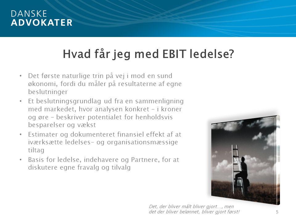 Hvad får jeg med EBIT ledelse