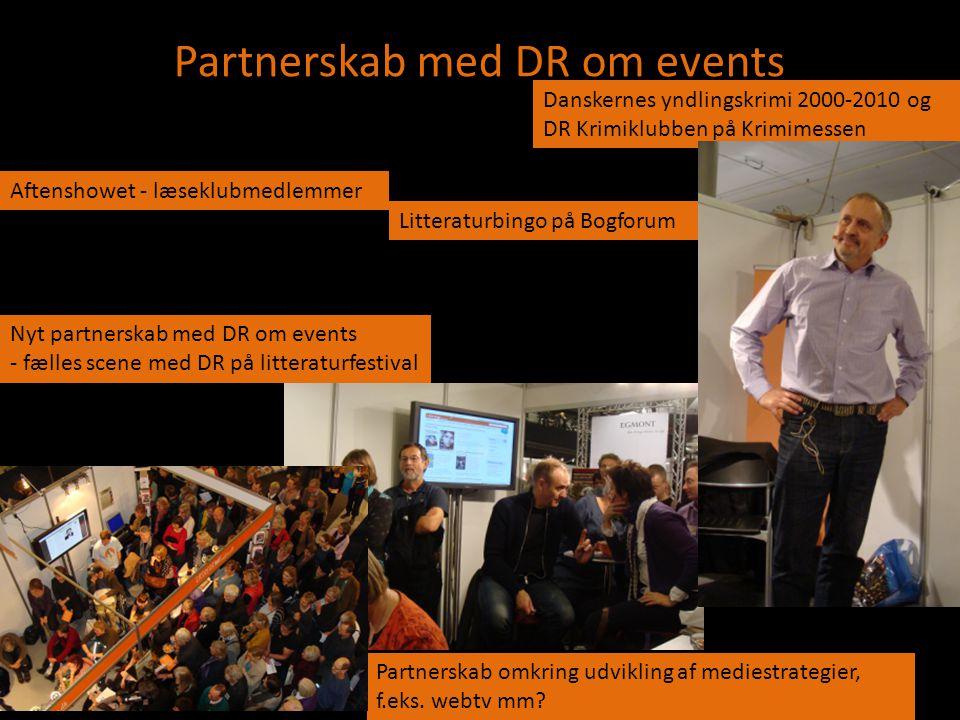 Partnerskab med DR om events