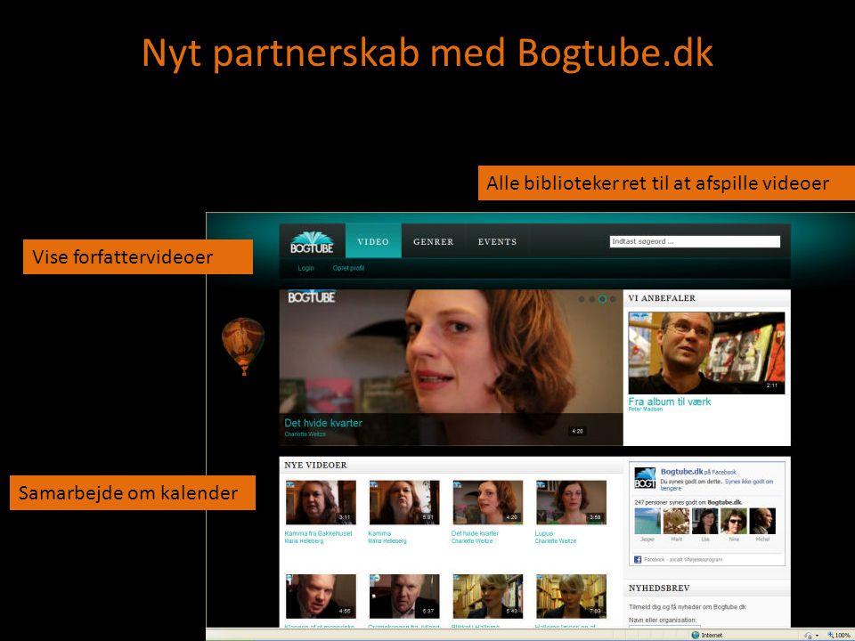 Nyt partnerskab med Bogtube.dk