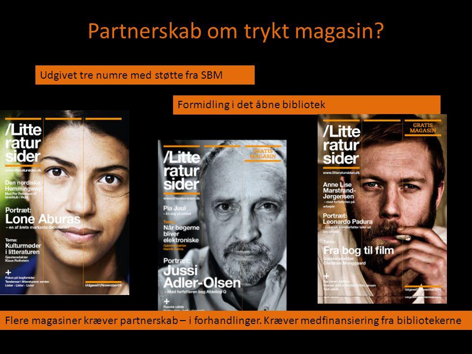 Partnerskab om trykt magasin