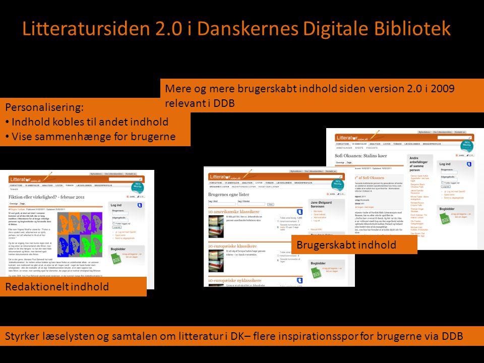 Litteratursiden 2.0 i Danskernes Digitale Bibliotek