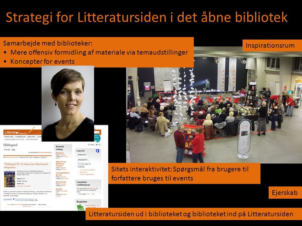 Strategi for Litteratursiden i det åbne bibliotek