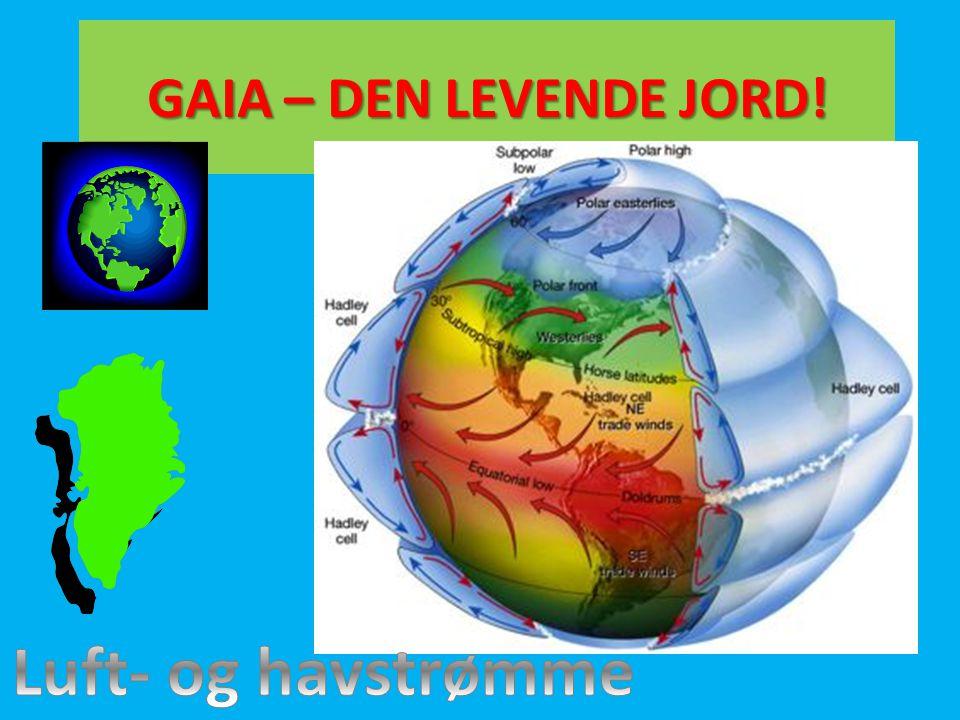 GAIA – DEN LEVENDE JORD! Luft- og havstrømme