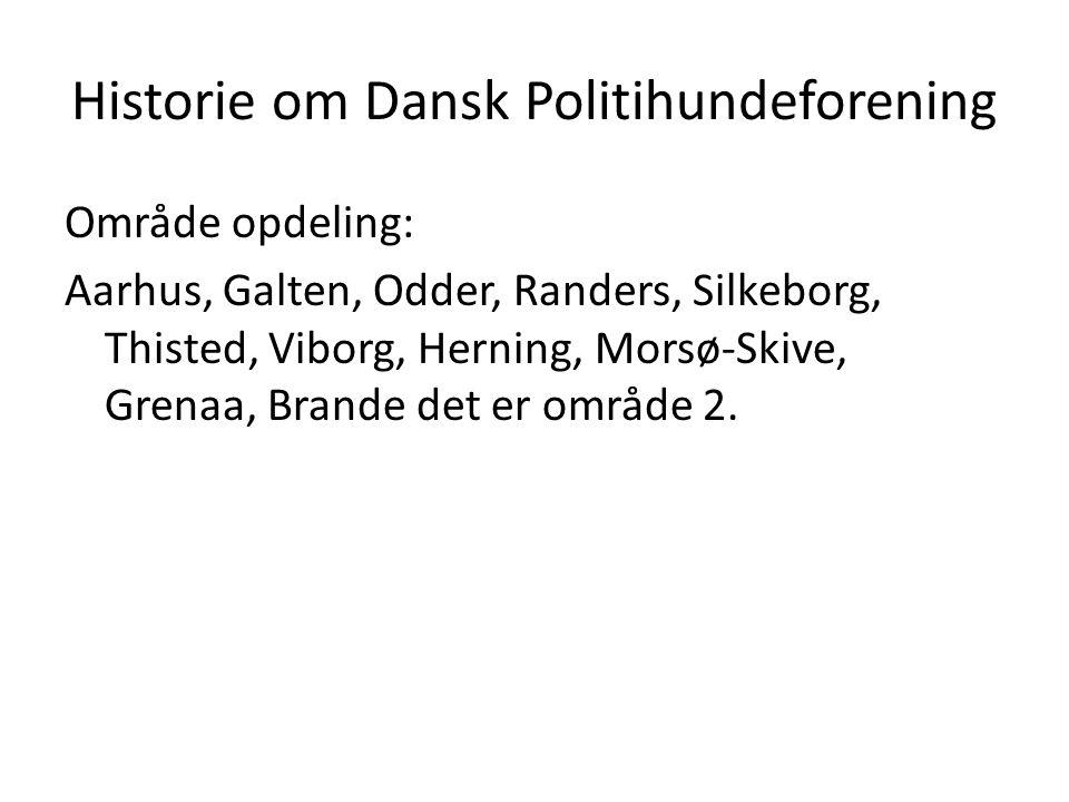 Historie om Dansk Politihundeforening