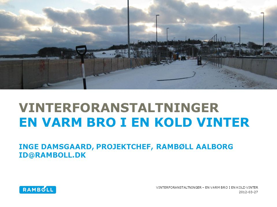 Vinterforanstaltninger