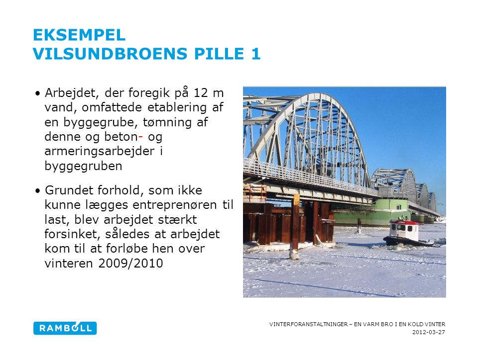 Eksempel Vilsundbroens pille 1