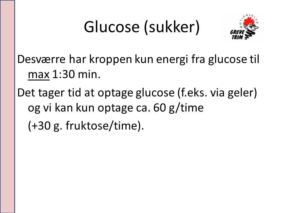 Glucose (sukker)