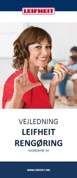 VEJLEDNING LEIFHEIT RENGØRING KUNDECENTER DK WWW.LEIFHEIT.COM