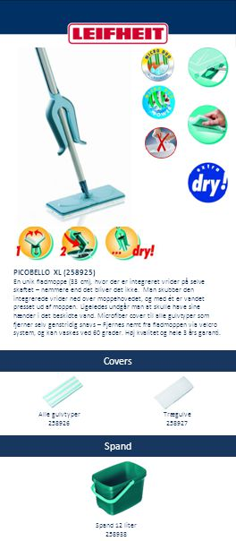 Covers Spand PICOBELLO XL (258925)